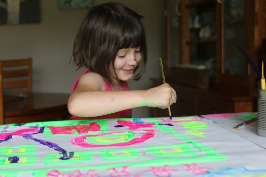 2014 Hannah paint2 August